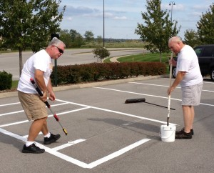 restriping the parking lot 3 (2)